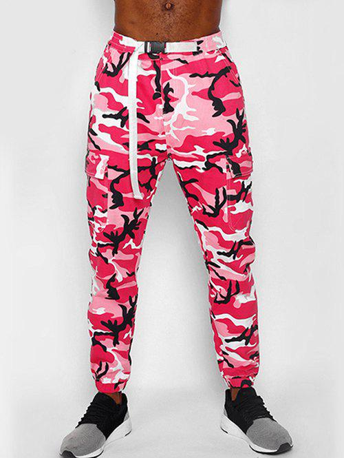 Outfit Camouflage Printed Multi Pocket Design Jogger Pants