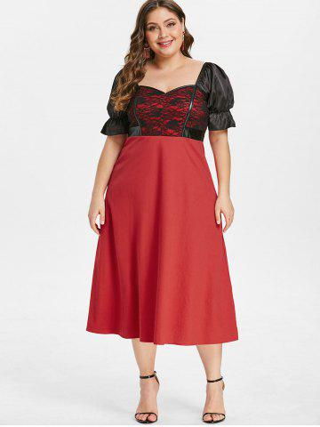 62979264d6df Vintage Midi Dress - Free Shipping, Discount And Cheap Sale | Rosegal