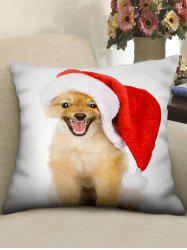 Christmas Puppy Printed Pillowcase -