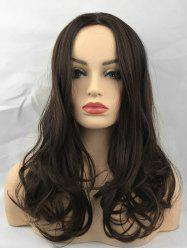 Middle Part Long Wavy Capless Heat Resistant Synthetic Wig -