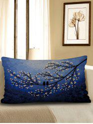 Tree Printed Waist Pillow Case -