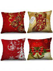 Christmas Decorations Pattern Throw Pillow Cases -