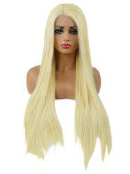 Long Straight Party Cosplay Synthetic Lace Front Wig -