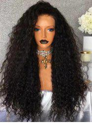 Free Part Long Water Wave Party Synthetic Lace Front Wig -