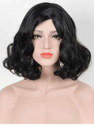 Short Side Parting Pear Hot Wavy Synthetic Wig -