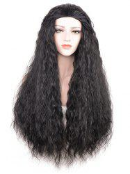 Long Party Corn Hot Wavy Synthetic Wig -