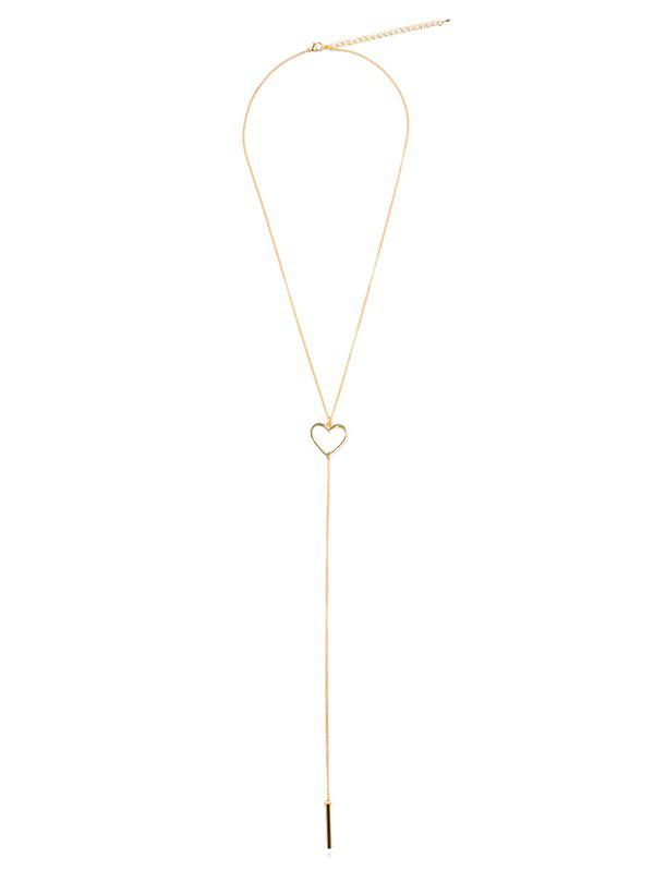 Hot Romantic Hollow Out Heart Alloy Pendant Necklace