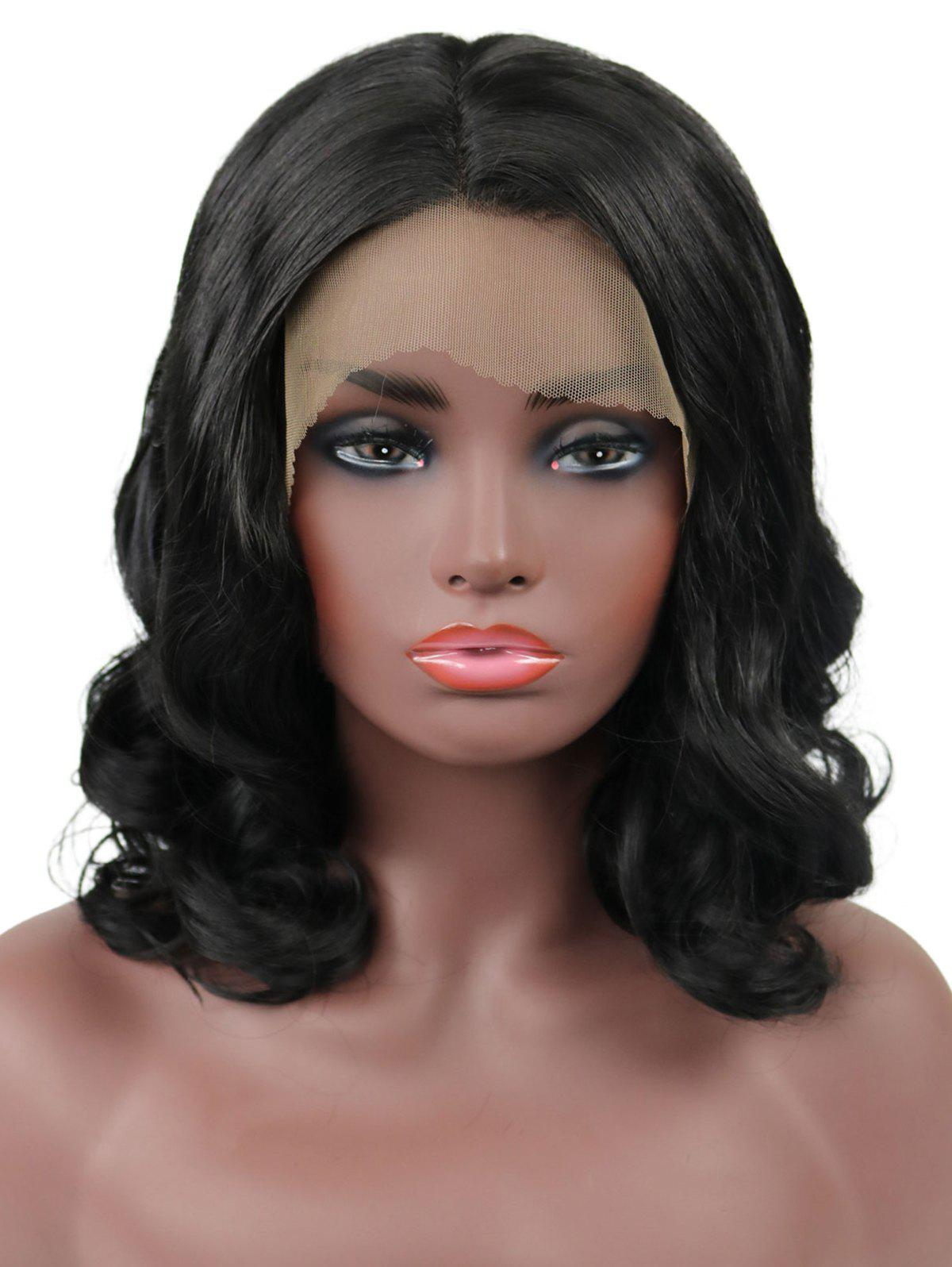 Shops Medium Center Parting Body Wave Party Synthetic Lace Front Wig