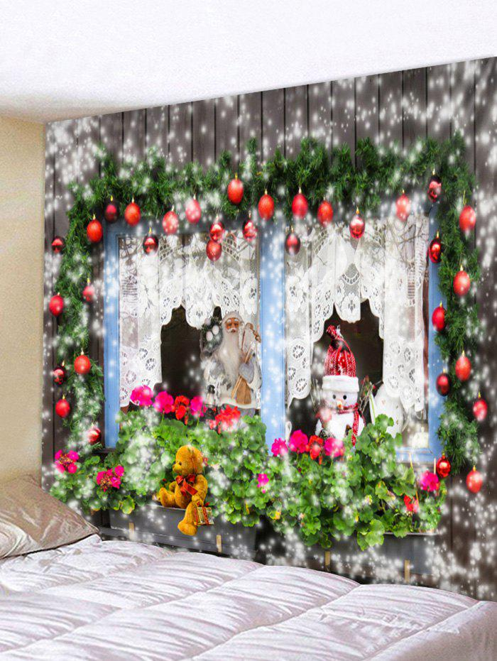 Discount Christmas Theme Print Tapestry Wall Hanging Decoration
