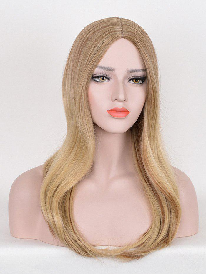 Shops Long Middle Part Straight Colormix Party Synthetic Wig