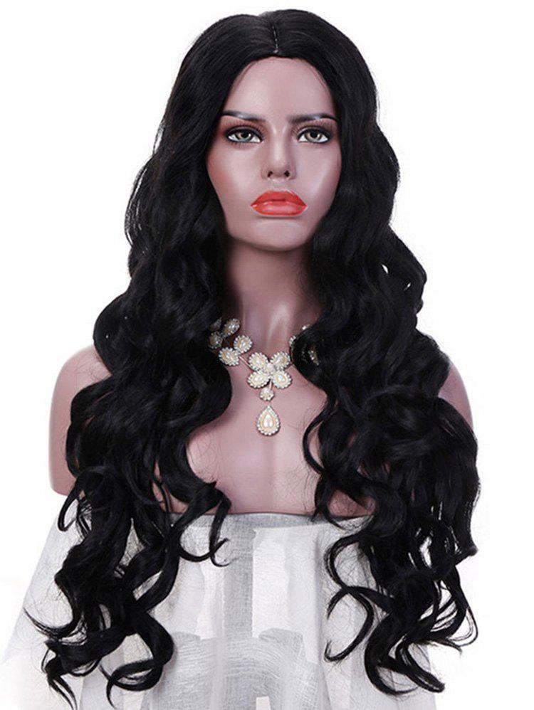 Shops Synthetic Long Middle Part Loose Wave Party Wig