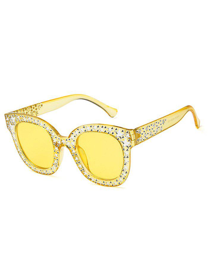 Fashion Star Decorative Anti Fatigue Full Frame Holiday Sunglasses