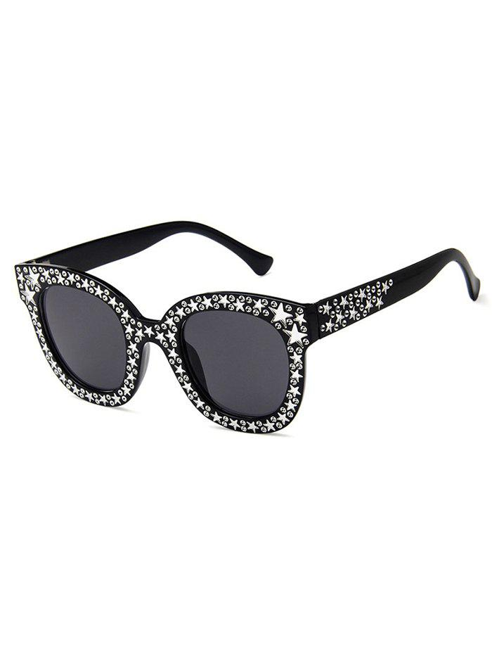 Online Star Decorative Anti Fatigue Full Frame Holiday Sunglasses