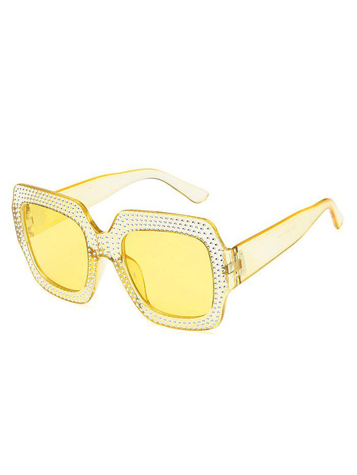 Latest Anti Fatigue Rivets Inlaid Sunglasses