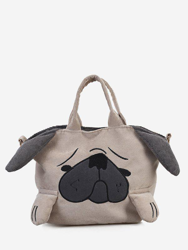 Fashion Dog Pattern Large Capacity Handbag