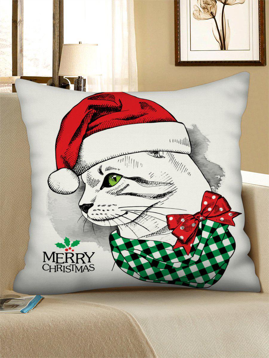 New Christmas Leopard Drawing Figure Printed Pillow Case