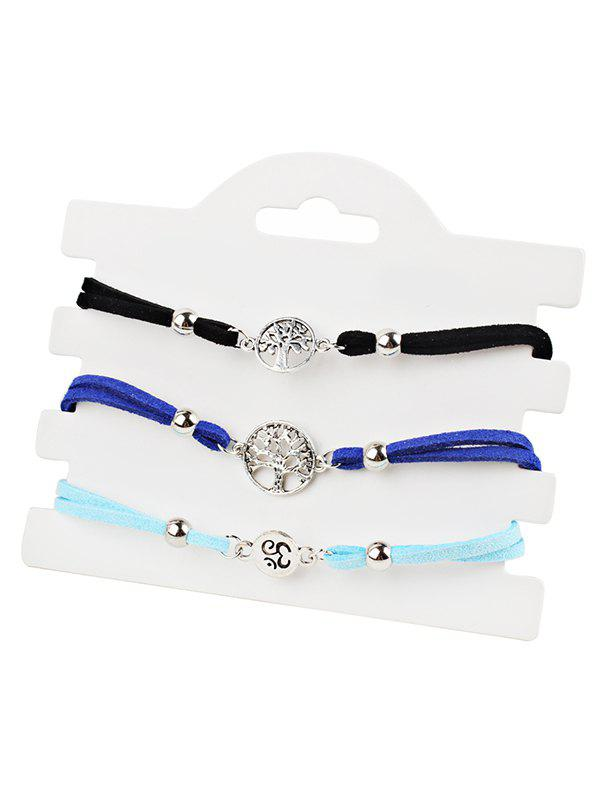Buy Tree of Life Pendant Beaded Anklet Chain Set
