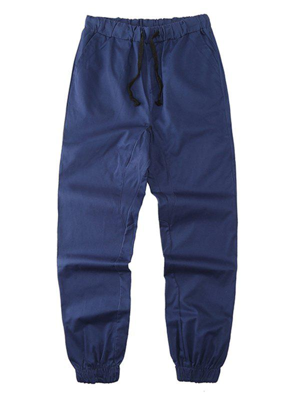 Outfit Solid Drawstring Waist Jogger Pants