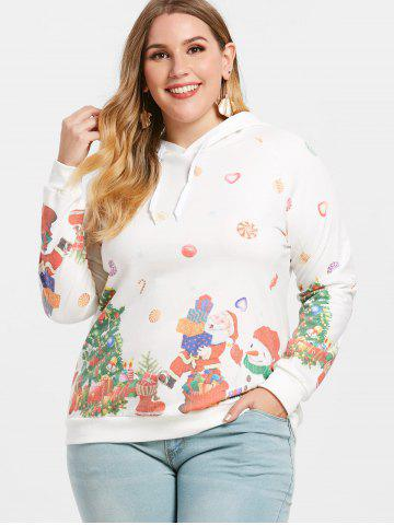 Christmas Pullover Plus Size Hoodie