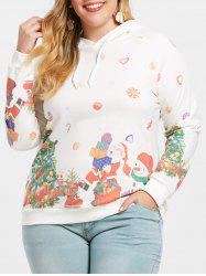Christmas Pullover Plus Size Hoodie -