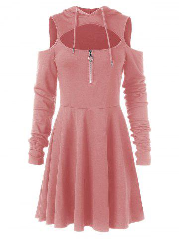 Light Pink Casual Dress - Free Shipping 3f6ef367e92b