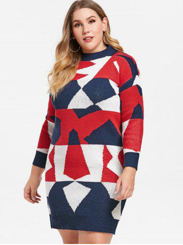 Red Plus Size Sweater Dress Free Shipping Discount And Cheap Sale