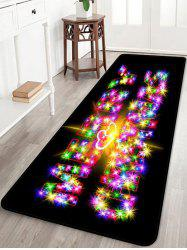 MERRY CHRISTMAS Pattern Anti-skid Area Rug -
