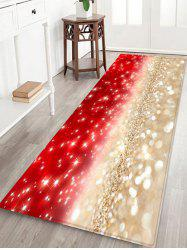 Christmas Glitter Pattern Anti-skid Area Rug -