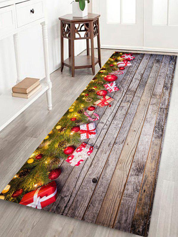 Outfit Christmas Tree Snowmen Pattern Area Rug