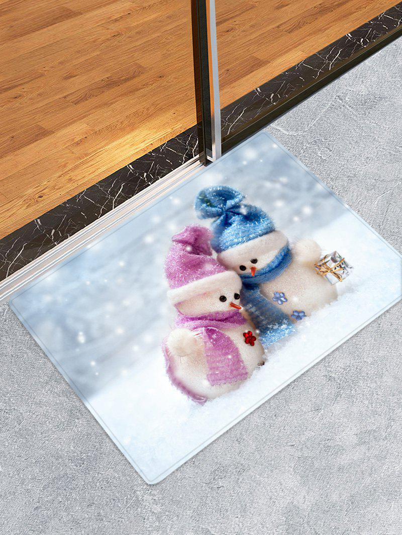 Store Christmas Snowman Lover Pattern Anti-skid Area Rug
