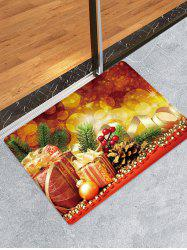 Christmas Gifts Pattern Water Absorption Area Rug -