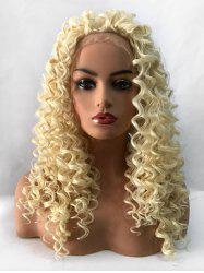Long Curly Heat Resistant Synthetic Lace Front Wig -