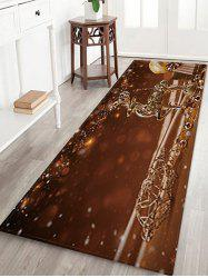 Christmas Props Pattern Water Absorption Area Rug -