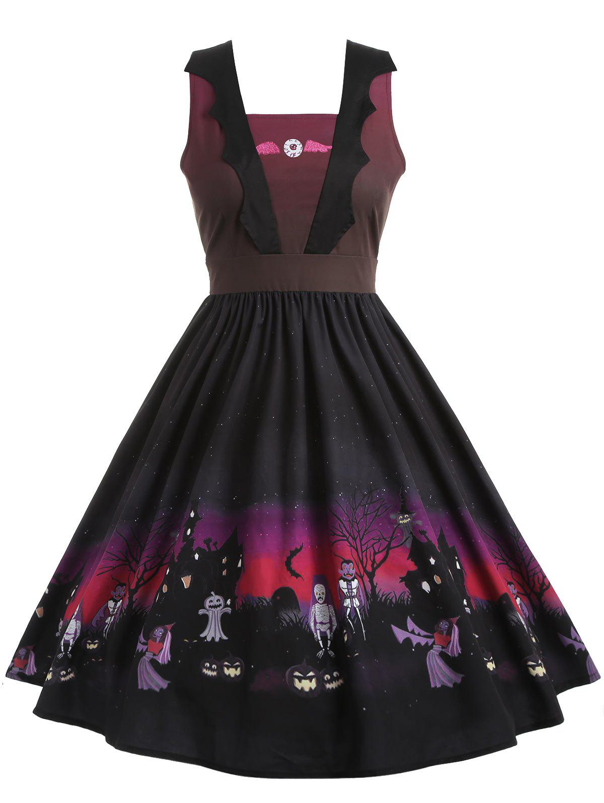 b379d5d1481 Buy Plus Size Evil Eye Halloween Dress. 38