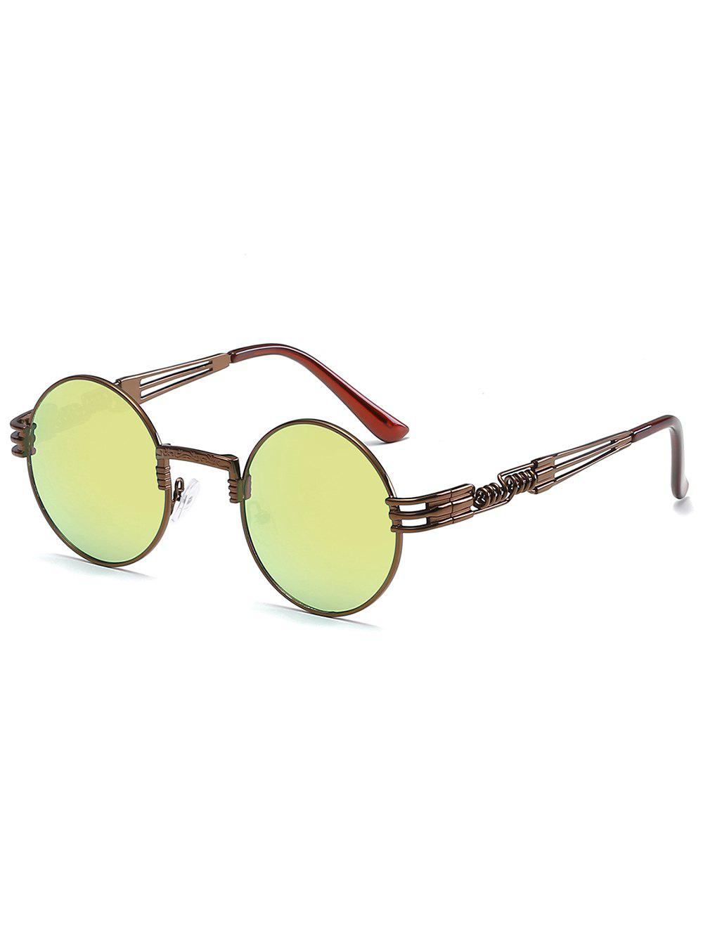 Chic Novelty Metal Frame Round Sunglasses