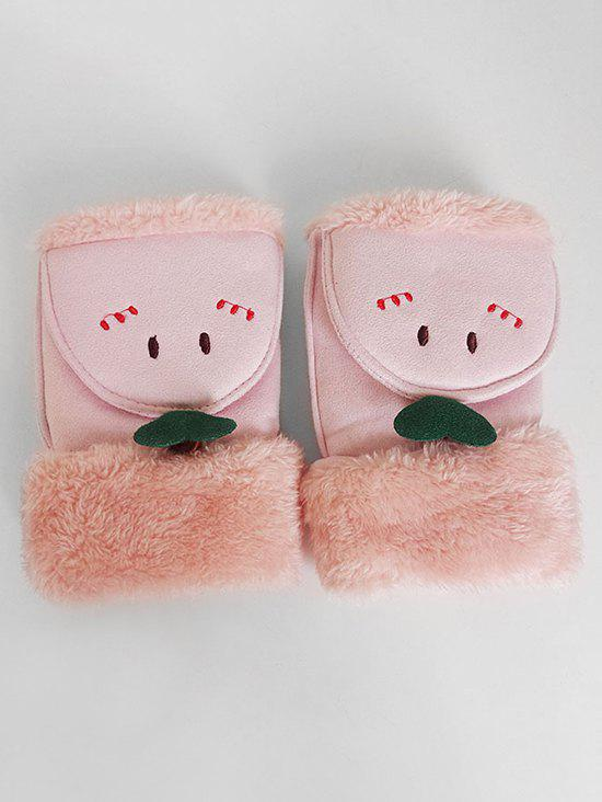 Sale Cute Cartoon Flanging Fuzzy Gloves