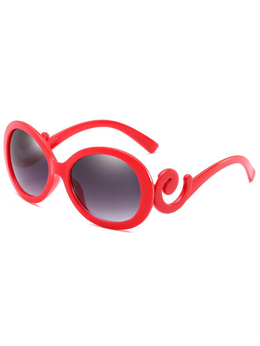 Online Novelty Oval Frame Sun Shades Sunglasses