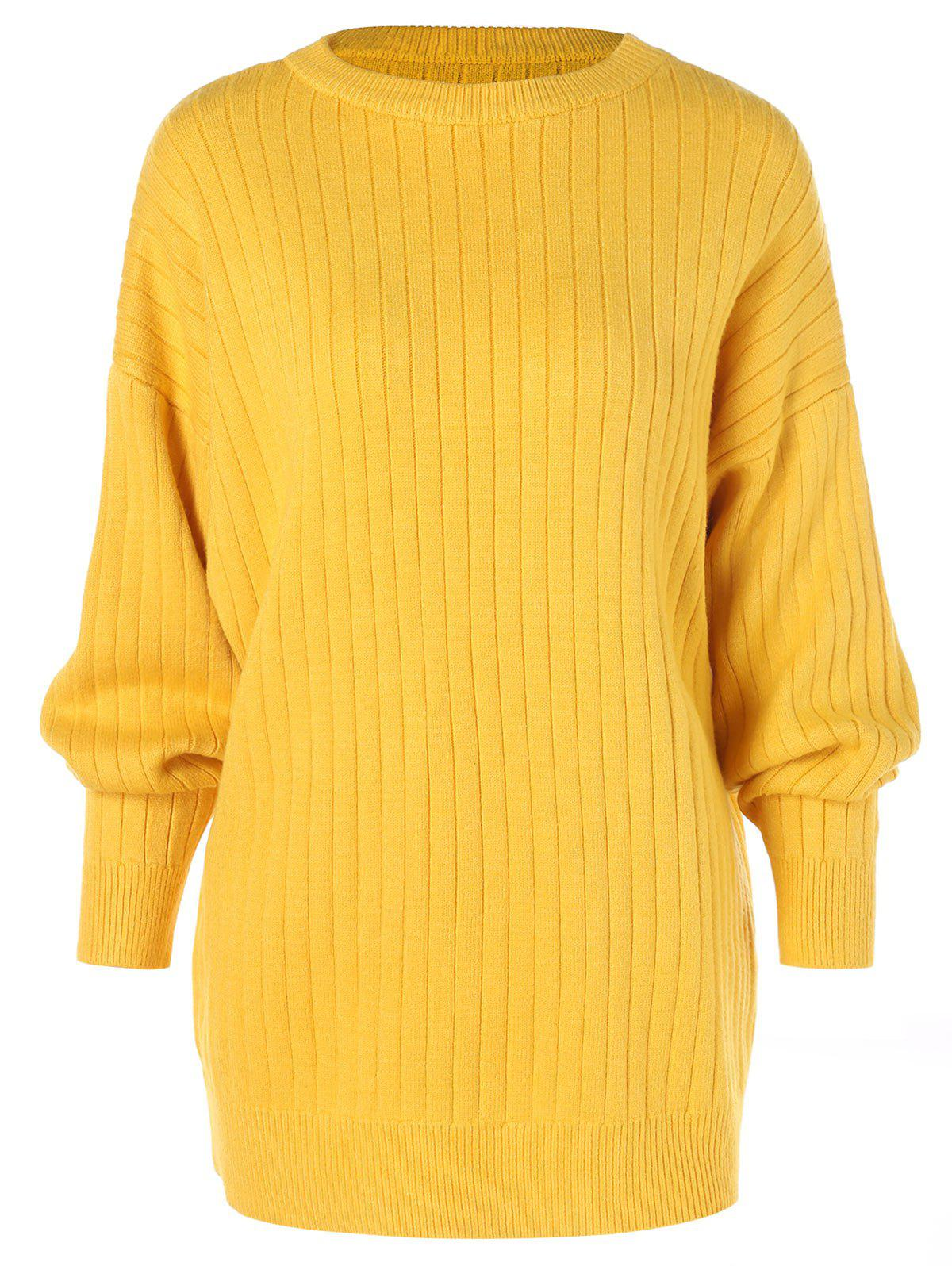 Store Dropped Shoulder Ribbed Knitwear