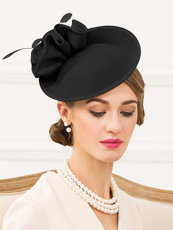 Best Elegant Floral Solid Color Pillbox Hat