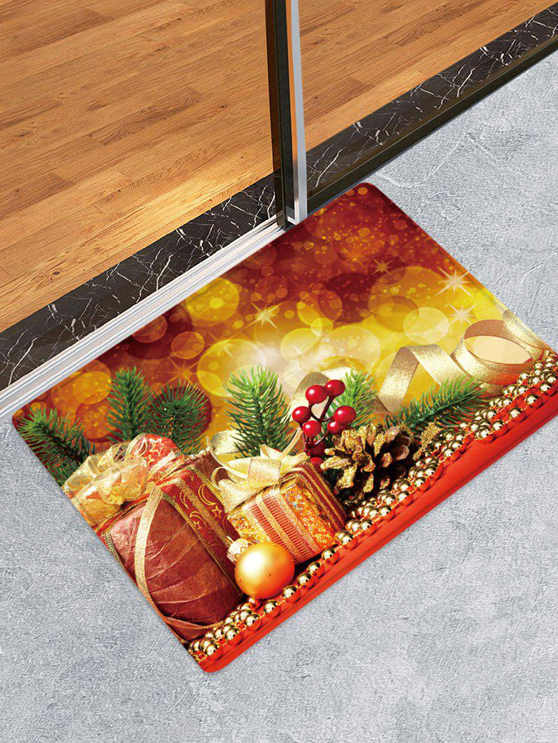 Shop Christmas Gifts Pattern Water Absorption Area Rug