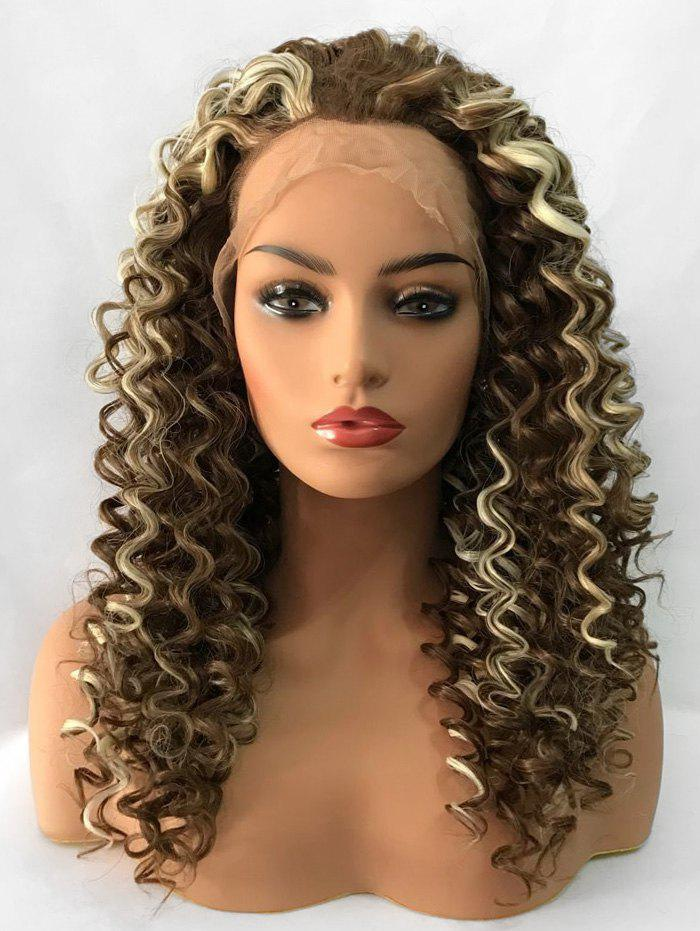 Shops Long Curly Heat Resistant Synthetic Lace Front Wig
