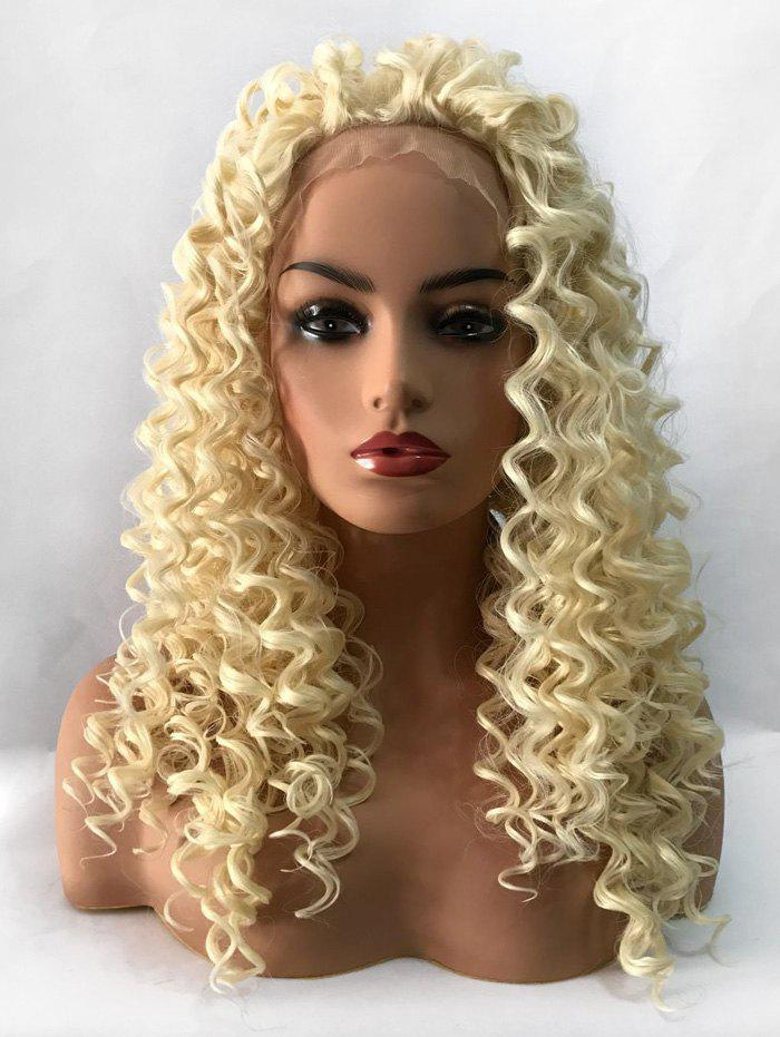 Latest Long Curly Heat Resistant Synthetic Lace Front Wig
