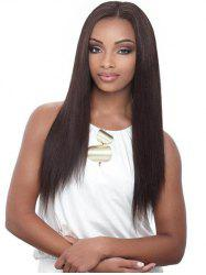 Middle Part Long Straight Synthetic Wig -
