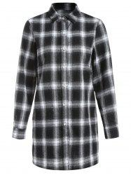 Long Sleeve Tartan Shirt -