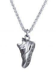 Alloy Sport Shoes Biker Necklace -