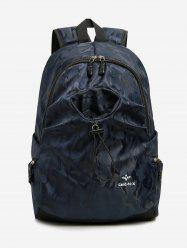Camo Print Large Capacity Travel Backpack -