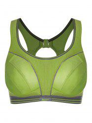 Cut Out Push Up Workout Bra -
