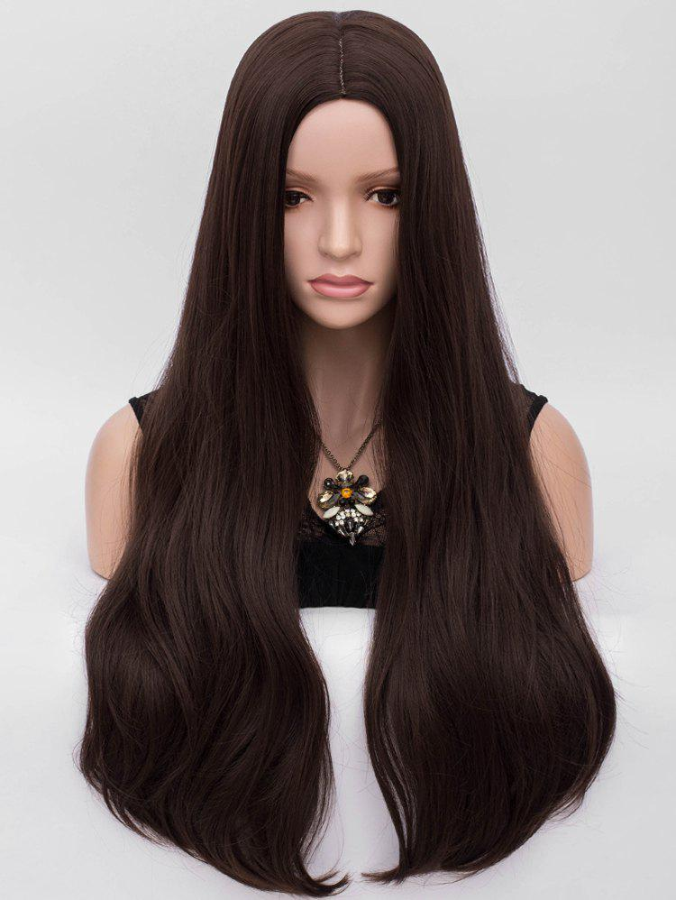 Store Middle Part Long Natural Straight Party Synthetic Wig