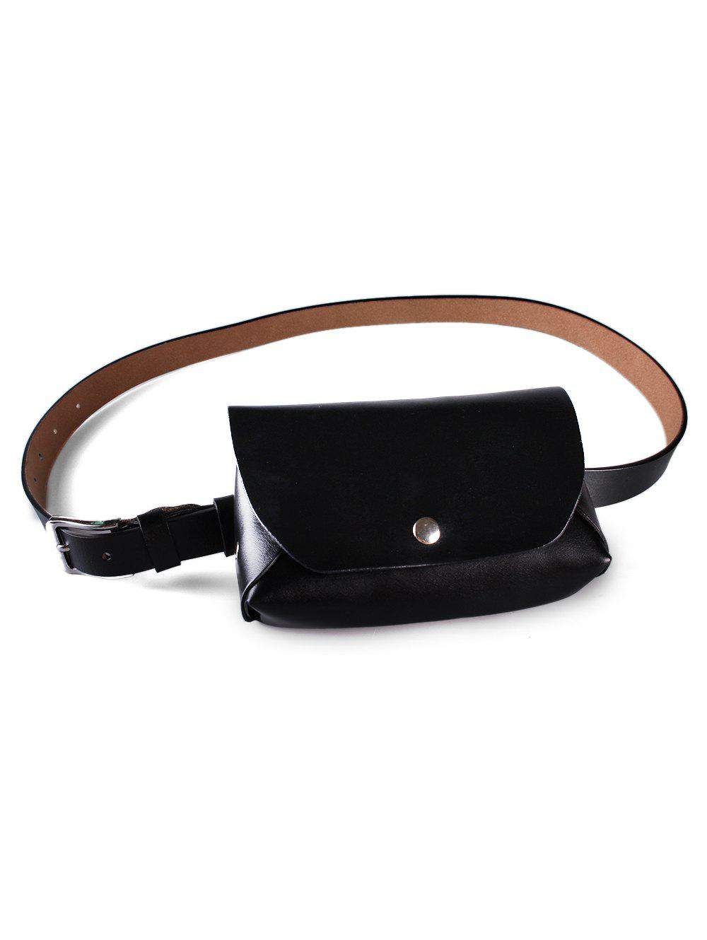 Affordable Stylish Faux Leather Fanny Pack Belt Bag