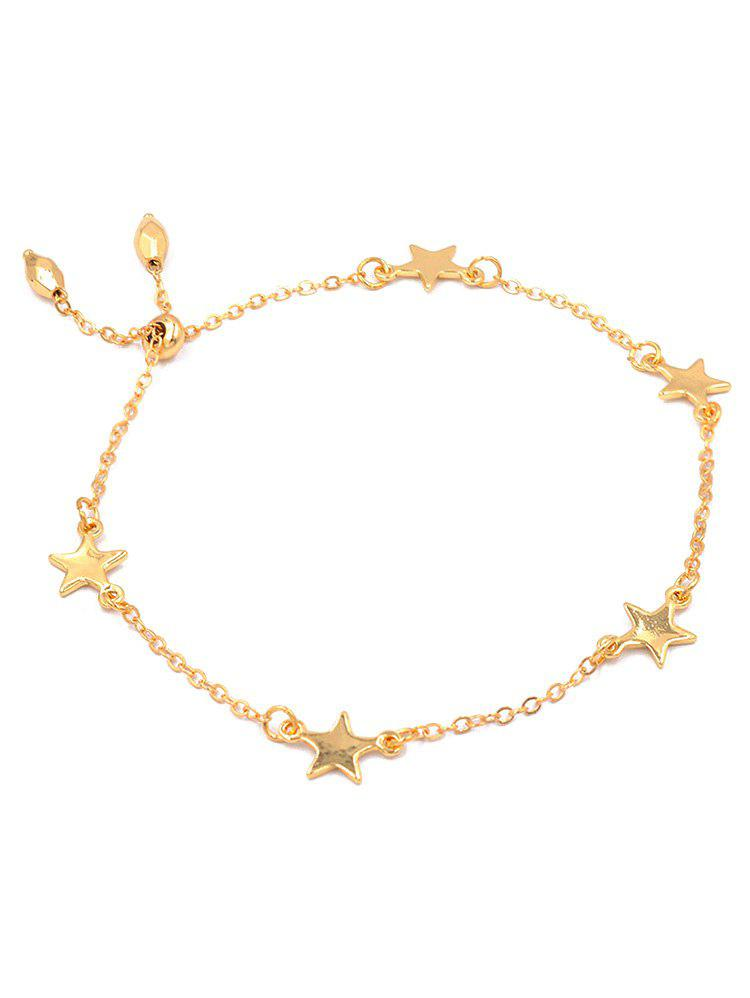 Fashion Alloy Star Chain Bracelet